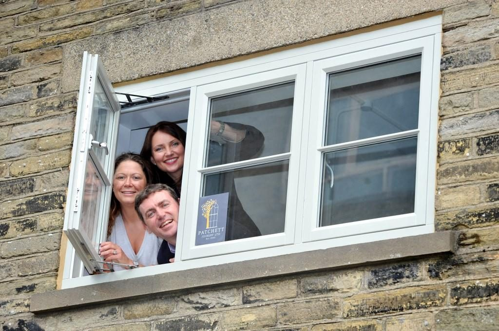 Patchett Joinery Sales Team. Beverley Ayres, Janine Roberts and Gareth O'Brien.