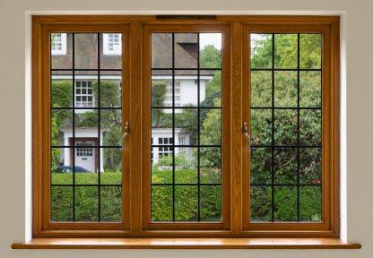 Wood casement windows by Patchett Joinery