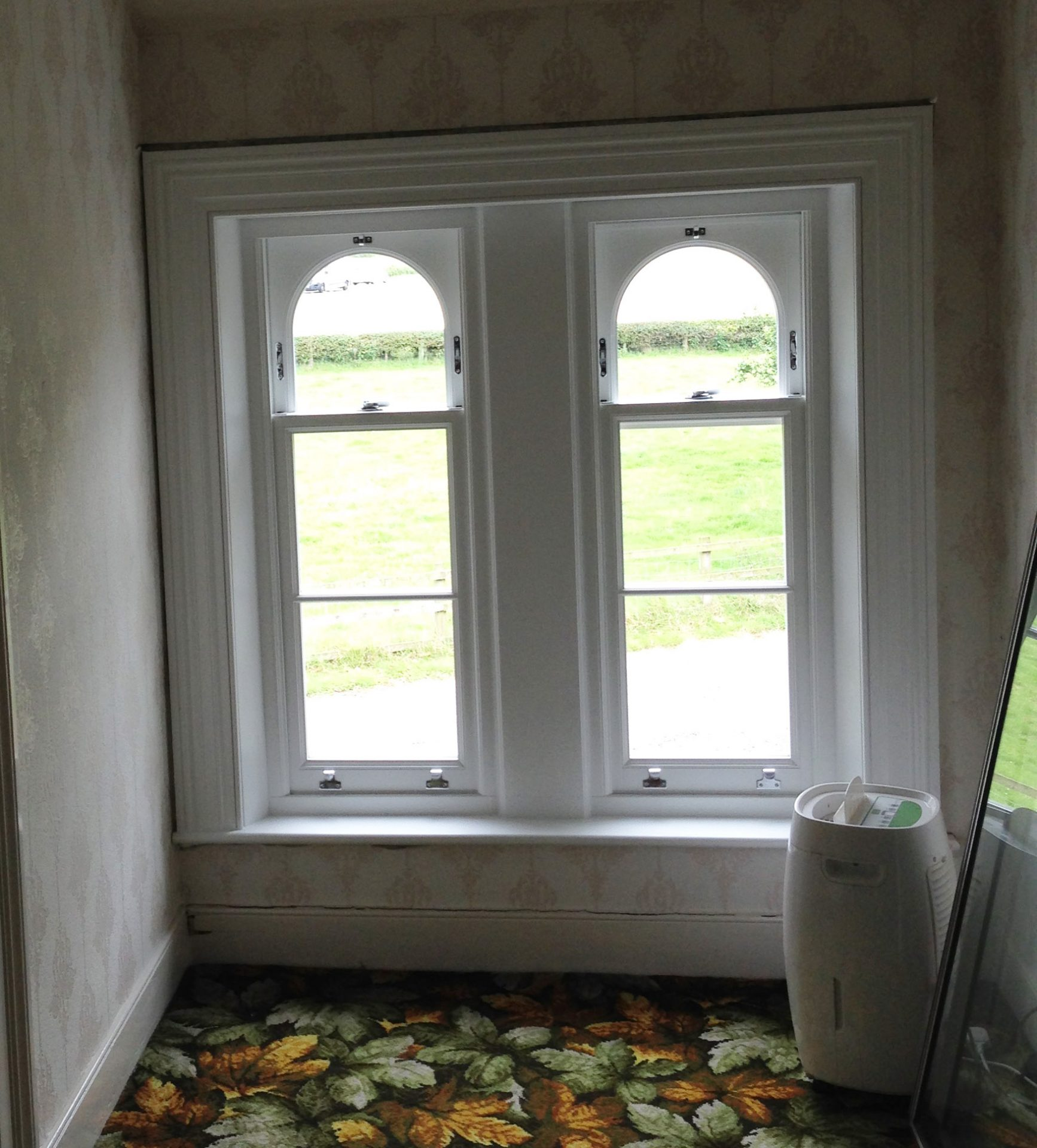 Timber Sliding Sash Window Installation By Patchet Joinery