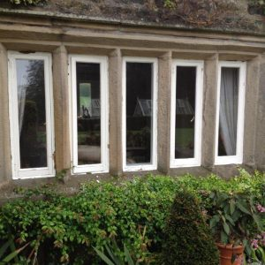 flush-casements prior to installation