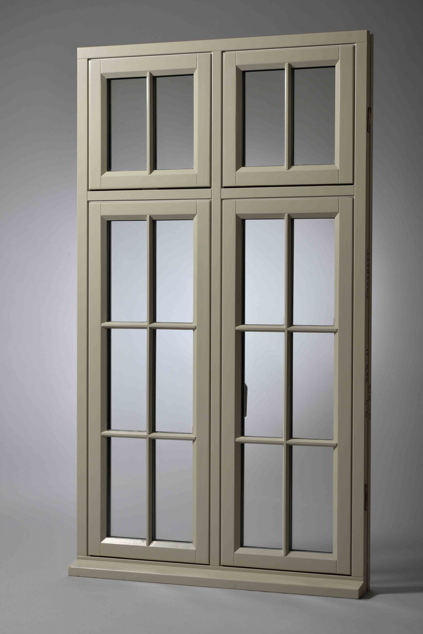 Timber flush casement window for Double casement windows
