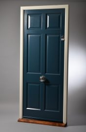 Timber front door by Patchett Joinery
