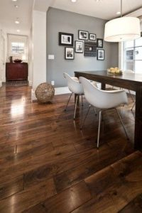 First Home Trend: Dark Wood
