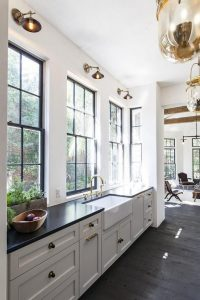 Fourth Home Trend: Black Shade Windows